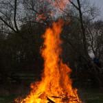 Was für ein schönes Feuer...