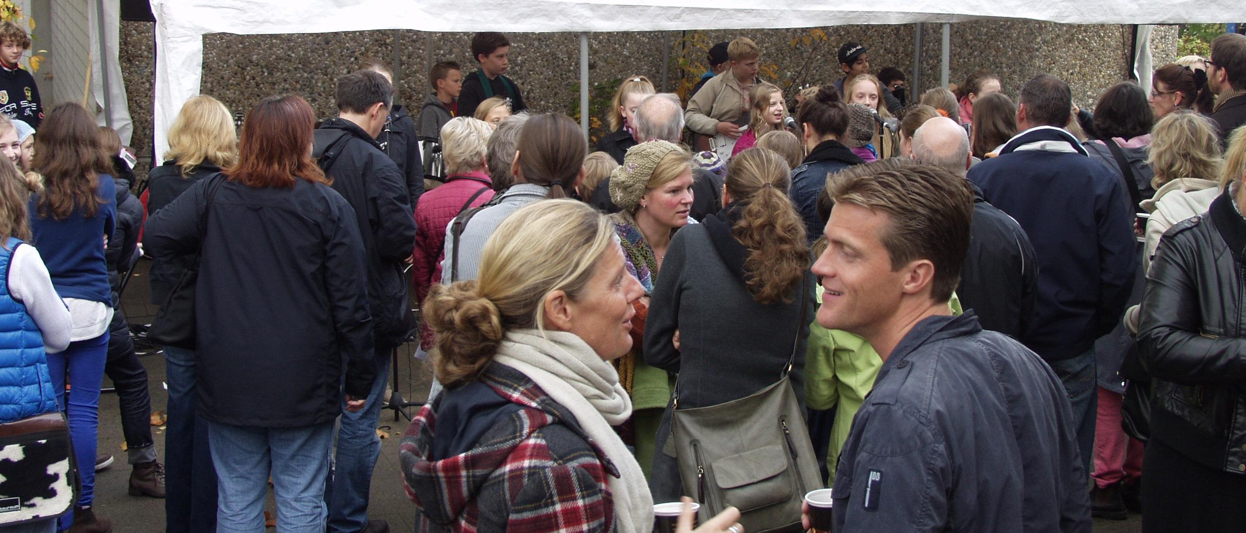 Viele Besucher beim Apfelfest 2013