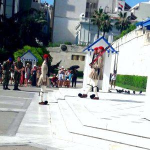 Wachablösung auf dem Syntagma-Platz